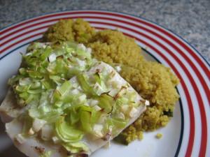 treska, quinoa