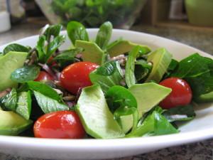 Anti-aging salát s avokádem