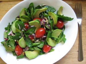 salát s avokádem2