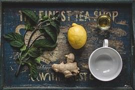 ginger, lemon