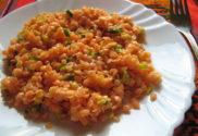 salát z červené čočky bez vaření