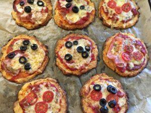 Květáková pizza bez lepku
